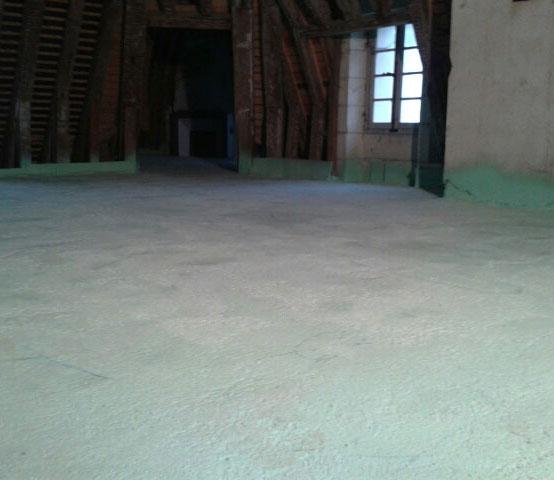 Votre plancher après isolation